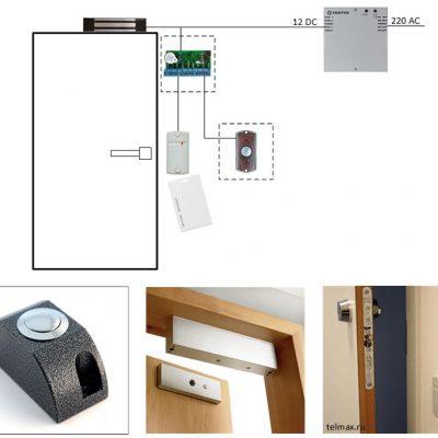 Простые автономные СКУД на одну дверь