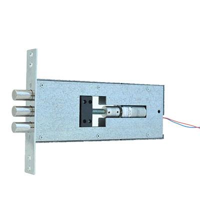 Установка электромеханического моторного замка